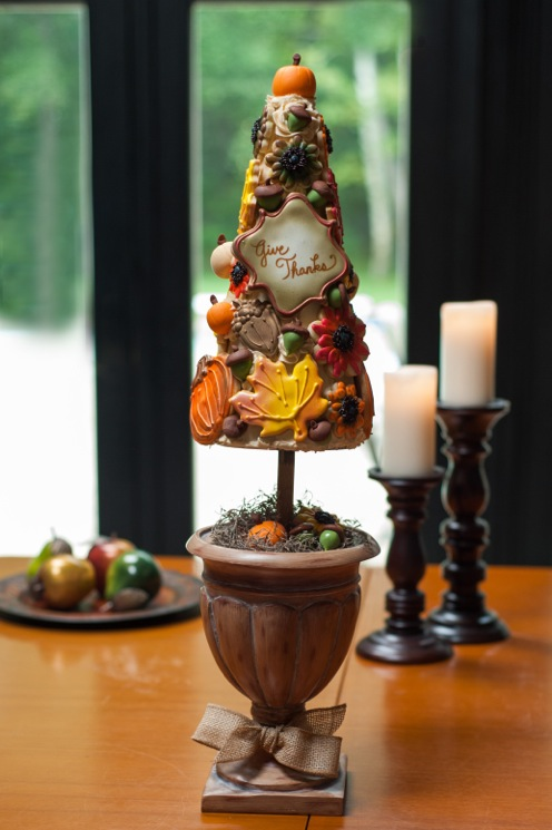 Fall Cake Ideas – Edible Topiary Tree Tutorial By Nicole Lang