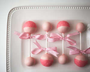 cake pops for girls