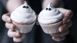ghost cupcake ideas