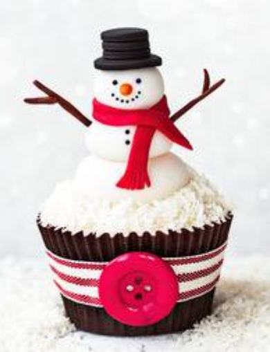 Easy Christmas Cupcake Ideas