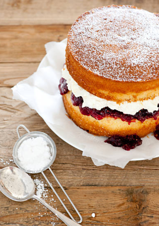 How To Bake A Sponge Cake From Scratch Sponge