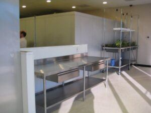 rent commercial kitchen space counters
